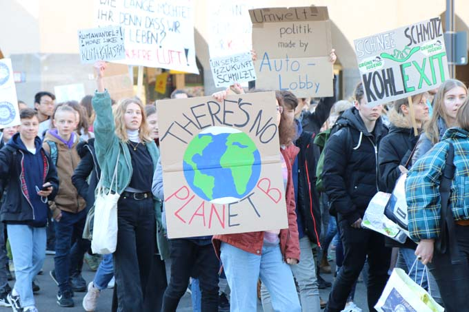 Fridays for Future Demonstration -Foto: NABU/Kathrin Baumann