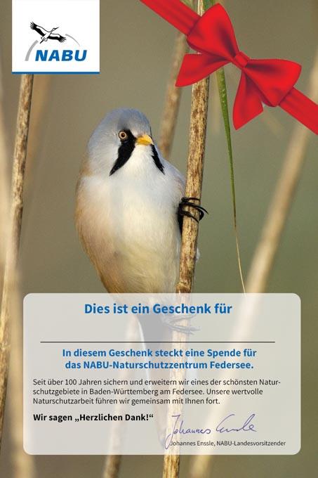 Spenden Statt Geschenke Nabu Baden Württemberg