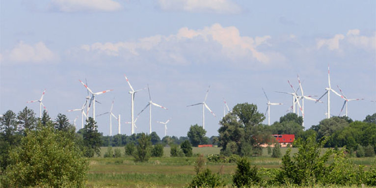 Windpark - Foto: Helge May